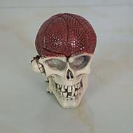 props 1pc dia das bruxas dançando ornamentos partido cabeça de esqueleto ornamentos cinzeiro