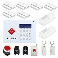 billige Tyverialarmsystemer-433MHz SMS / Telefon 433MHz GSM Indlæringskode