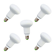 billige Globepærer med LED-9W E26/E27 LED-globepærer R63 18 SMD 5730 820 lm Varm hvit / Kjølig hvit Dekorativ V 5 stk.