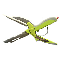 baratos Utensílios de Fruta e Vegetais-cortador inteligente 6in1 food cutting board tesoura helicóptero vegetais slicer