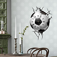 Moderne / Nutidig Huse Wall Clock,Andre Andre 380*558mm Innendørs Klokke
