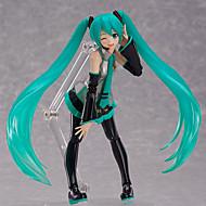 Cosplay Hatsune Miku PVC 15cm Anime Action Figures Model Legetøj Doll Toy