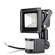 baratos Focos-1pç 10 W Focos de LED Impermeável / Monitor de Detecção de Movimento Branco Quente / Branco Frio 85-265 V Iluminação Externa