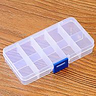 Caixas de Armazenamento Plástico com # , Característica é Com Tampa , Para Shopping