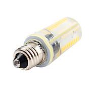 E11 LED-maissilamput T 80 ledit SMD 3014 Himmennettävissä Koristeltu Lämmin valkoinen Kylmä valkoinen 450lm 2800-6500K AC 220-240 AC