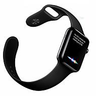 billiga Smart klocka Tillbehör-Klockarmband för Apple Watch Series 3 / 2 / 1 Apple Sportband Fluroelastomer Handledsrem