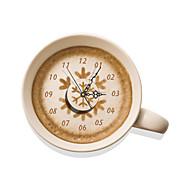 Moderne/Contemporain Nourriture et Boisson Horloge murale,Autres Autres 400*472mm Intérieur Horloge