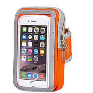 billiga Mobil cases & Skärmskydd-fodral Till Universal Övrigt Plånbok Armbindel Armband Ensfärgat Mjukt Textil för