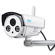 Jooan® wireless ip camera 1mp gravação de áudio 720p sem fio de segurança exterior built-in 16gb micro tf cartão