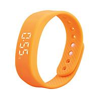 tanie Inteligentne zegarki-Inteligentne Bransoletka Wodoszczelny Spalone kalorie Krokomierze Śledzenie odległości Do noszenia 3D Długi czas czuwania Sportowy USB