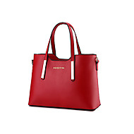 Women Bags All Seasons PU Tote Rivet for Event/Party Shopping Casual Sports Formal Outdoor Office & Career Blushing Pink Wine Light Blue