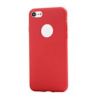 billiga Mobil cases & Skärmskydd-fodral Till Apple iPhone XS / iPhone XR / iPhone 7 Frostat Skal Enfärgad Mjukt TPU för iPhone XS / iPhone XR / iPhone XS Max