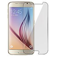 billiga Mobiltelefoner Skärmskydd-Skärmskydd för Samsung Galaxy S7 / S6 / S5 Härdat Glas Displayskydd framsida Anti-fingeravtryck