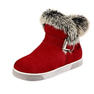 cheap Girls' Shoes-Girl's Shoes Libo New Style Hot Sale Casual / Outdoors Comfort Fashion Warm Snow Boots Gray / Red / Black