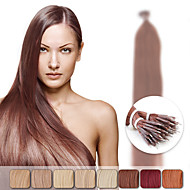 Neitsi 20'' 50g/lot g/s Nano Ring Loop Tip Remy Human Hair Extensions Straight