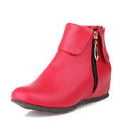 Mujer Zapatos PU Otoño / Invierno Confort / Botas de Equitación Botas Senderismo / Ciclismo / Paseo Tacón Cuadrado Dedo redondo Cremallera La Sortie Authentique bGvebn8bPM