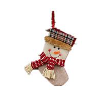 パーティー小道具 / ホリデー・デコレーション / クリスマスデコレーション / クリスマスパーティー用品 / クリスマス向けおもちゃ ホリデー用品 サンタスーツ / Elk / 雪だるま 布
