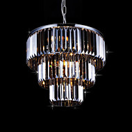 billige Taklamper-9-Light Takplafond Omgivelseslys galvanisert Metall Krystall 110-120V / 220-240V Pære ikke Inkludert / E12 / E14