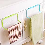 baratos -material de cozinha armário de plástico organizadores pano toalha pendurada removível de lavagem esponja titular rack de armazenamento