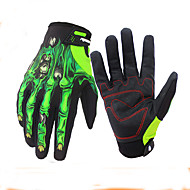 cheap Cycling Gloves-Sports Gloves Touch Gloves Keep Warm Waterproof Wearable Wearproof Anti-skidding Protective Limits Bacteria Full-finger Gloves Spandex