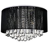 billige Taklamper-4-Light Takplafond Omgivelseslys - Krystall, 110-120V / 220-240V Pære ikke Inkludert / 20-30㎡ / E12 / E14