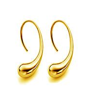 Γυναικεία Κουμπωτά Σκουλαρίκια Επιχρυσωμένο Σκουλαρίκια Κρεμαστό κυρίες Κοσμήματα Χρυσό / Ασημί Για Γάμου Πάρτι Καθημερινά Causal Αθλητικά