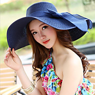 cheap Fashion Hats-Women's Holiday Outdoor Straw Hat - Solid Colored