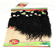 8-14inch 8 pcs /lot Brazilian Jerry curly human hair weft ombre burgundy kinky curly Virgin Hair Brazilian Virgin Hair brazilian Hair Weave Bundles
