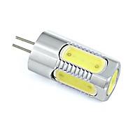 3W G4 LED-lamper med G-sokkel 5 COB 260 lm Varm hvit / Kjølig hvit DC 12 V 1 stk.