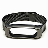 billiga Smart klocka Tillbehör-Klockarmband för Mi Band 2 Xiaomi Milanesisk loop Metall Rostfritt stål Handledsrem