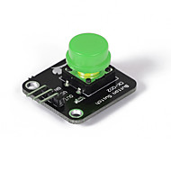 cheap -Crab Kingdoms ck002 Keyboard Keys Module Compatible With Digital Electronic Components Development Board Material 5 Color And Guests  (green