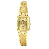 Dámské Hodinky k šatům Módní hodinky Hodinky na běžné nošení Křemenný Voděodolné Slitina Kapela Běžné nošení Zlatá Zlatá