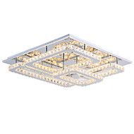 cheap Ceiling Lights-Flush Mount Ambient Light - Crystal LED, Modern / Contemporary, 110-120V 220-240V, Warm White White, Bulb Included