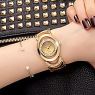 billige Quartz-Dame Armbåndsur Quartz Imiteret Diamant Legering Bånd Analog Vedhæng Glitrende Vintage Sølv / Guld - Sølv Rose Guld Guld / Hvid To år Batteri Levetid
