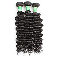 Remy de Brésilien de cheveux Tissage Naturel Rémy Ondulation profonde Tissage Cheveux Rémy Humain
