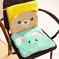 cheap Novelty Pillows-Creative Cute  Animal Mat Cushion  Cartoon Plush Cushion Cushion Thickness  Office Computer Chair Cushion  (Random Colour)