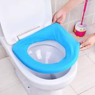 Toilettensitzkissenbezug Universaltoilettensitzabdeckung WC-Sitz WC-Sitzpolster Kissen Sitzkissen (zufällige Farbe)