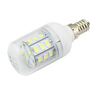 billige Kornpærer med LED-2W 500 lm E14 LED-kornpærer T 27 leds SMD 5730 Dekorativ Varm hvit Kjølig hvit AC85-265 DC 12 V AC 85-265V