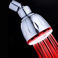 Moderna Chuveiro Tipo Chuva Cromado Característica-Amiga-do-Ambiente LED , Lavar a cabeça