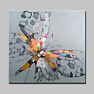 billiga POP Art-mintura® handmålade fjäril djur oljemålning på duk moderna abstrakta väggkonst bilder för vardagsrum heminredning redo att hänga