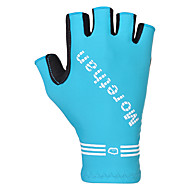 cheap Cycling Gloves-FJQXZ Sports Gloves Wearable Breathable Reduces Chafing Fingerless Gloves Spandex Synthetic Textile Fibres Cycling / Bike Downhill Men's