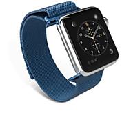 Urrem for Apple Watch Series 3 / 2 / 1 Apple Milanesisk rem Rustfrit stål Håndledsrem