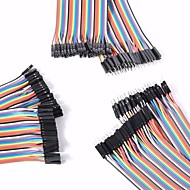 cheap Electrical Equipment & Supplies-Universal Male to Male / Male to Female / Female to Female DuPont Cables Set for Arduino