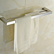 cheap Bathroom Hardware-Towel Bar High Quality Contemporary Stainless Steel 1 pc - Hotel bath 2-tower bar