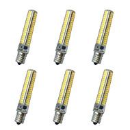 E14 E12 E17 E11 LED Corn Lights T 136LED SMD 5730 850-900LM lm Warm White Cold White K Decorative AC110 AC220 V