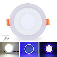 baratos Luzes LED de Encaixe-5500-6500 lm Lâmpada de Teto 20 Contas LED SMD 2835 Regulável / Decorativa Branco Natural / Azul 85-265 V / 1 pç