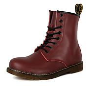 Zapatos Tejido Invierno Confort Botas para Al aire libre Negro Gris Marrón Rojo g7NiEO4T
