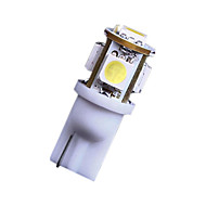 2x 7000k hladno bijelo 5 SMD T10 168 194 2825 LED žarulje za registarske pločice nas svijetli