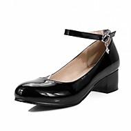 Homme-Mariage Bureau & Travail Habillé Décontracté Soirée & Evénement-Noir Bleu Rose Blanc-Gros Talon-Confort Nouveauté-Chaussures à
