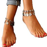 Dame Ankel/Armbånd Legering Statement-smykker Mode Europæisk Smykker Til Daglig